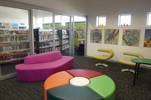 Dysart Recreation Centre and Library reading corner