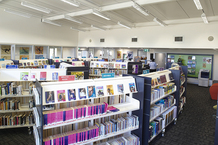Dysart Recreation Centre and Library Interior