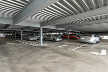 Tea Tree Plaza O'Bahn Interchange Car Park Interior