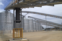 Boral Peppertree Quarry Silos and Conveyors