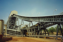Mount Todd Gold Mine Conveyor and Screening