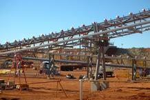 De Grussa Copper Mine Structural steel