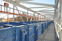 Bunge Bulk Grain Facility conveyor systems
